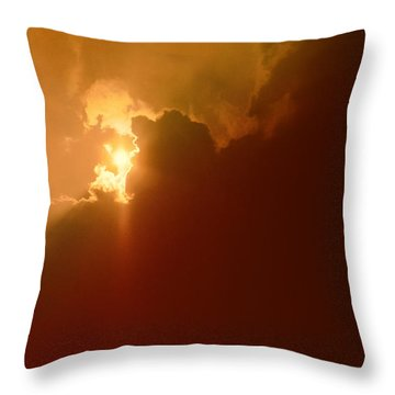The Simple Beauty Of Light Throw Pillow by Kellice Swaggerty