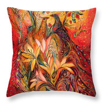The Sirocco Throw Pillow by Elena Kotliarker