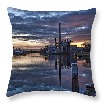 The Sky Is Crying Throw Pillow