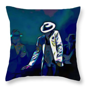 The Smooth Criminal Throw Pillow by  Fli Art