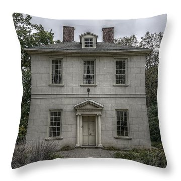 The Solitude House Throw Pillow by Richard Reeve
