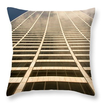 The Solow Building Throw Pillow