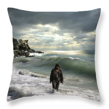 The Son Is The Radiance Of God's Glory Throw Pillow