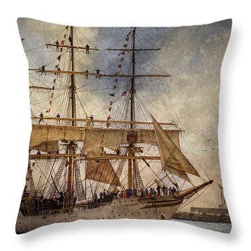 The Sorlandet Throw Pillow by Dale Kincaid