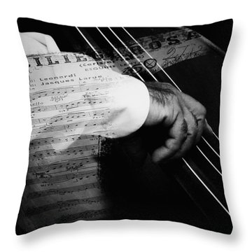 The Sound Of Memory Throw Pillow