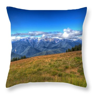 The Sound Of Music Throw Pillow by Heidi Smith