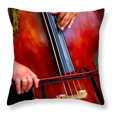 The Sound Of Music Throw Pillow by Nicola Fiscarelli