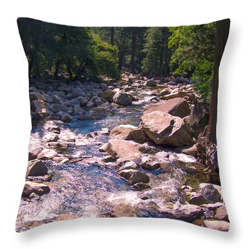 The Sound Of Silence Throw Pillow by Dany Lison