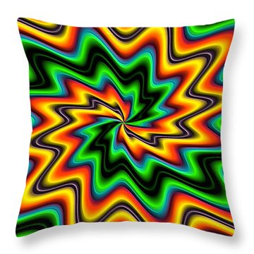 The Spark By Rafi Talby  Throw Pillow by Rafi Talby