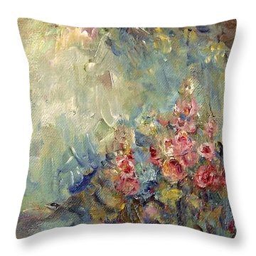 The Sparkle Of Light Throw Pillow