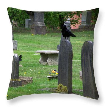 The Spectators Throw Pillow