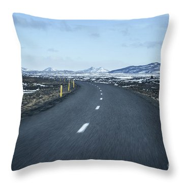 The Speed I Need Throw Pillow