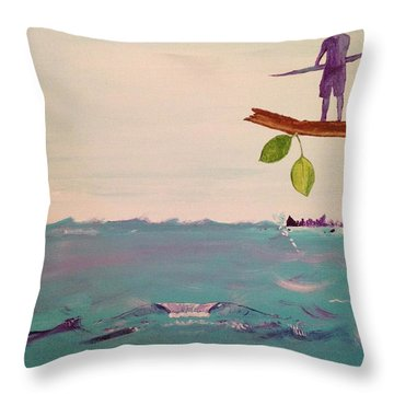 The Spirit Of Aikau Throw Pillow by Brandon McKenzie