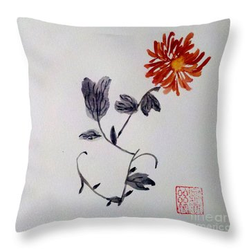 The Spirit Of Autumn Throw Pillow