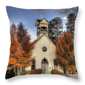 The Spirit Of Breckenridge Throw Pillow