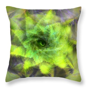 The Spirit Of The Jungle Throw Pillow by Martina  Rathgens