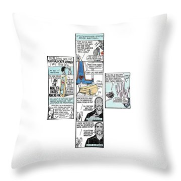 'the Sporting Life' Throw Pillow