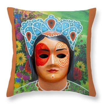 The Spring Fairy Throw Pillow