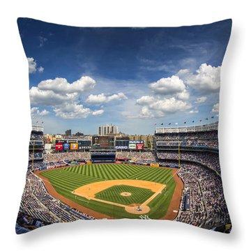 The Stadium Throw Pillow