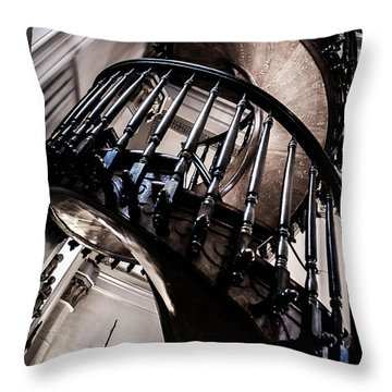 The Staircase Throw Pillow