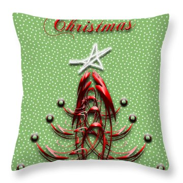 The Star Shines Bright Throw Pillow by Carolyn Marshall
