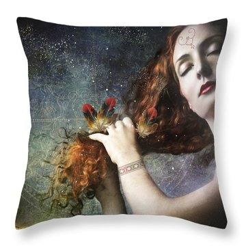 The Stars Are My Home Throw Pillow