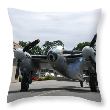 Throw Pillow featuring the photograph The Start by Mark Alan Perry