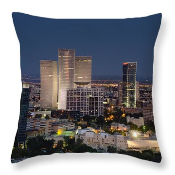 Throw Pillow featuring the photograph The State Of Now by Ron Shoshani