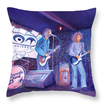 The Steepwater Band Throw Pillow