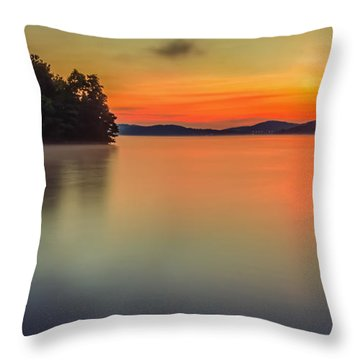 The Still And Quiet Dawn Throw Pillow
