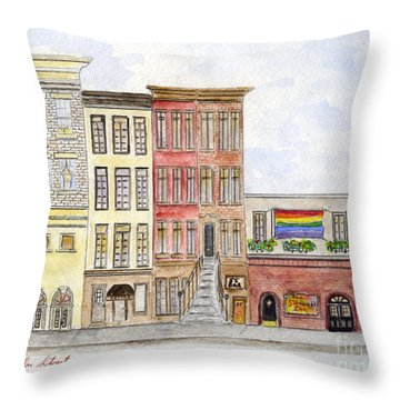 The Stonewall Inn Throw Pillow