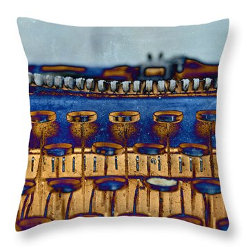 The Story Told 3 Throw Pillow by Angelina Vick