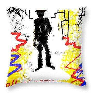 The Stranger Albert Camus Poster Throw Pillow