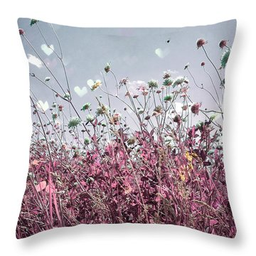The Stranger In Love  Throw Pillow by Jerry Cordeiro