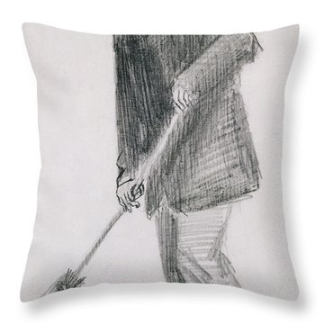 The Street Cleaner Throw Pillow