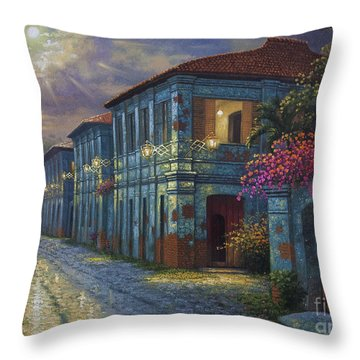 The Street We Used To Know Throw Pillow