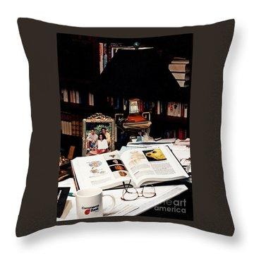 The Study Throw Pillow
