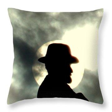 New Orleans General Robert E. Lee Mounment Throw Pillow by Michael Hoard
