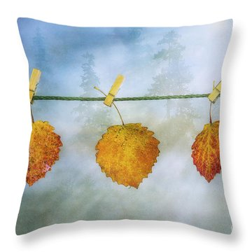 The Sun Shines Again Throw Pillow