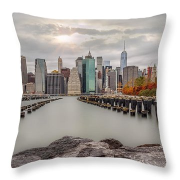 The City Of God Throw Pillow
