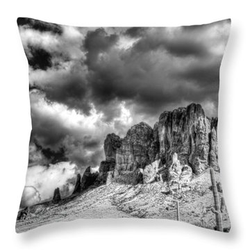 The Superstitions  Throw Pillow