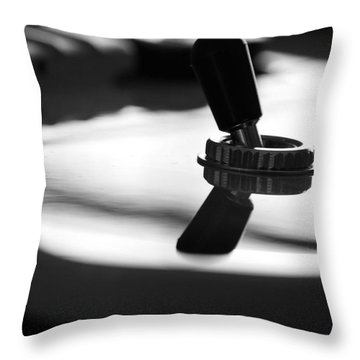 The Switch Throw Pillow by Karol Livote