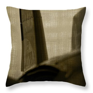 The Tail Throw Pillow by Paul Job