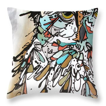 The Teacher Throw Pillow
