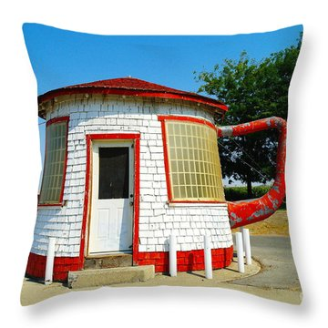 The Teapot Dome  Throw Pillow by Jeff Swan