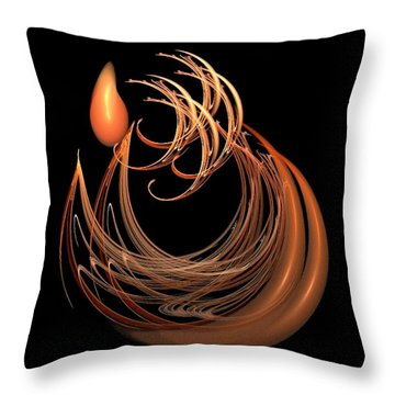The Tear Throw Pillow by Nancy Pauling