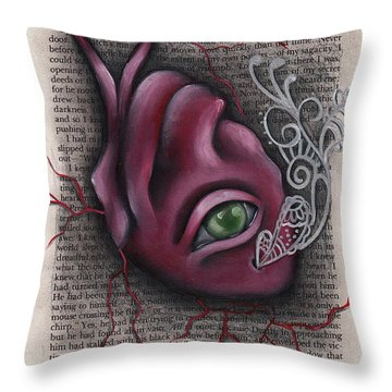 The Tell Tale Heart Throw Pillow