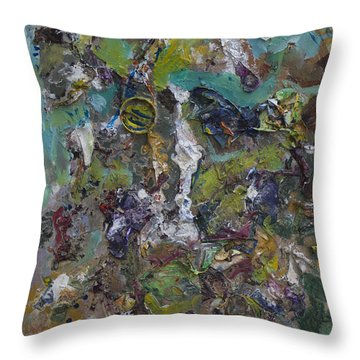 The Texture Of Things Throw Pillow
