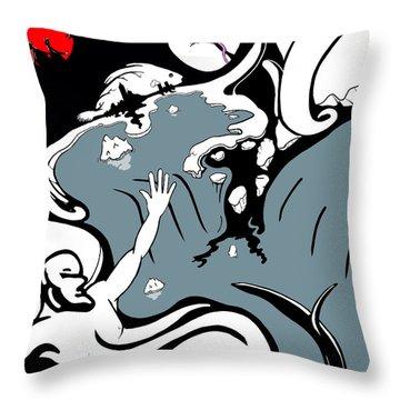 The Thaw Throw Pillow