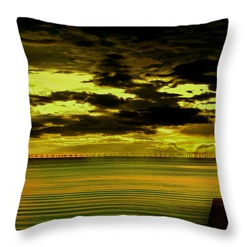 The Thinking Spot Throw Pillow